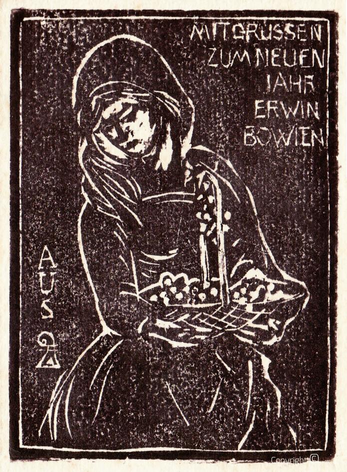 Holzschnitt Notjahr, 1931