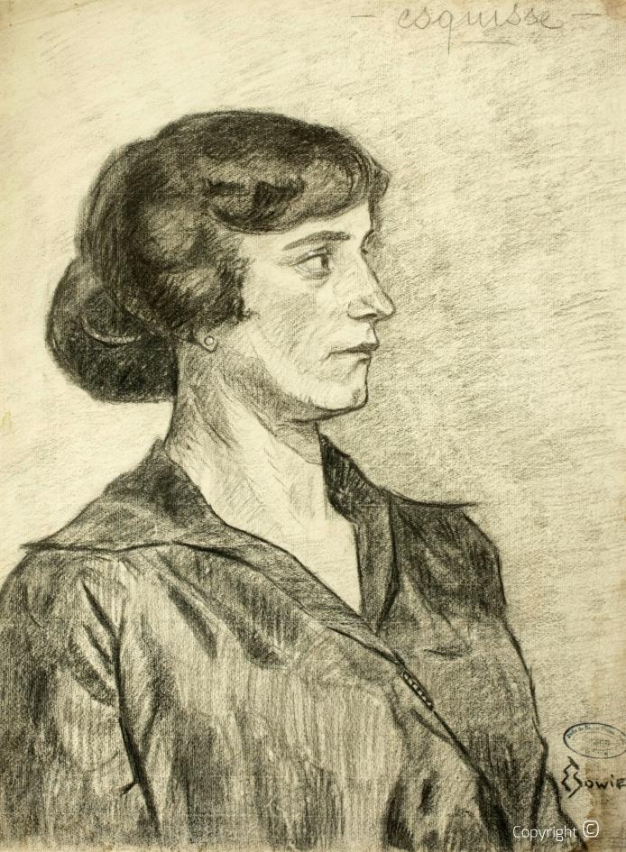 Werkverzeichnis N° 1869 - Schweizer Frauenportrait, ca. 1915