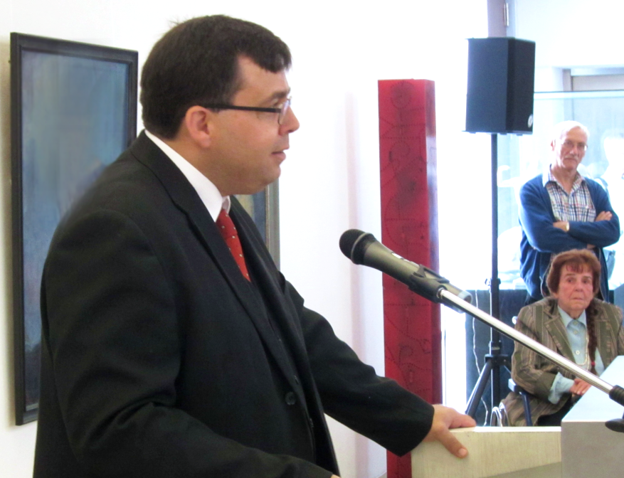 Opening speech of the retrospective at the Kunstmuseum Solingen in 2014 by Dr. Haroun Ayech - Managing Director of the Freundeskreis Erwin Bowien e.V.
