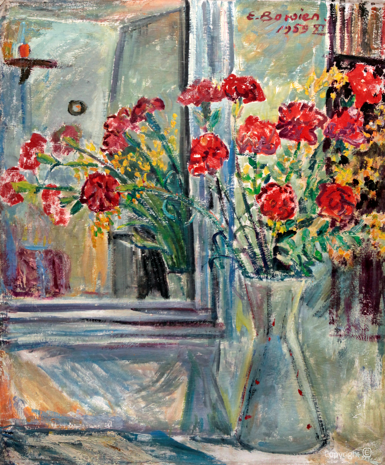 Flower portrait, 1959