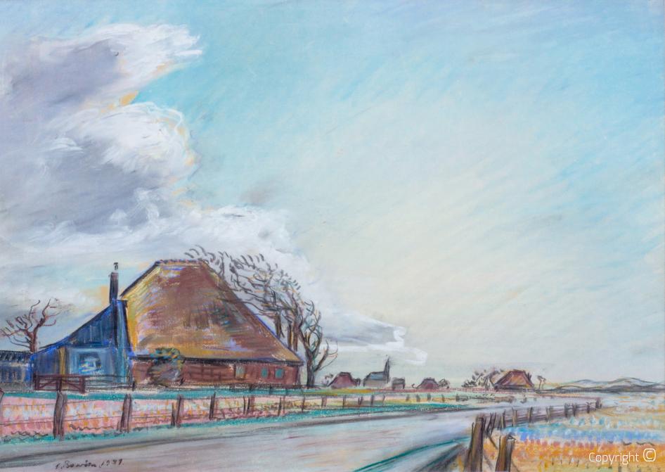 Egmond aan den Hoef, 1939, Foto Frits van Eck,  Collection Museum van Egmond
