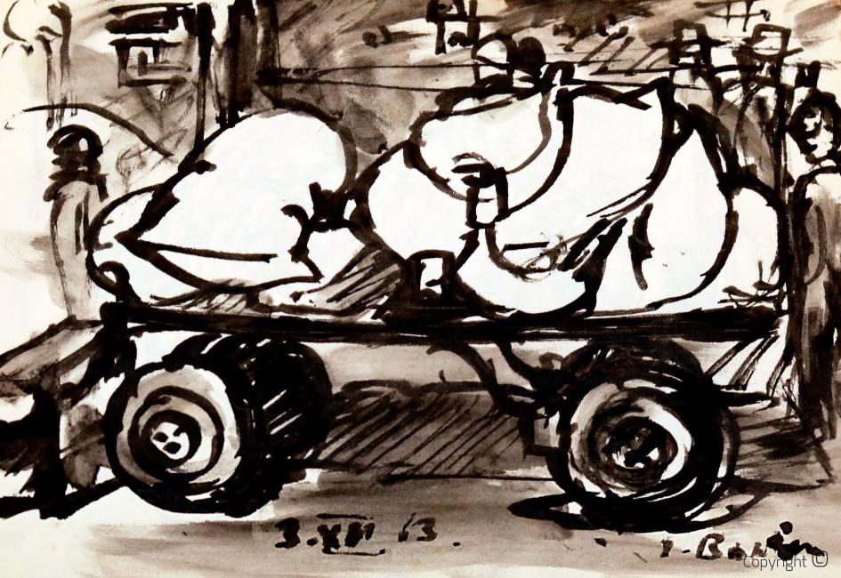 Erwin Bowien (1899 - 1972) - Cargo trailer, 1963