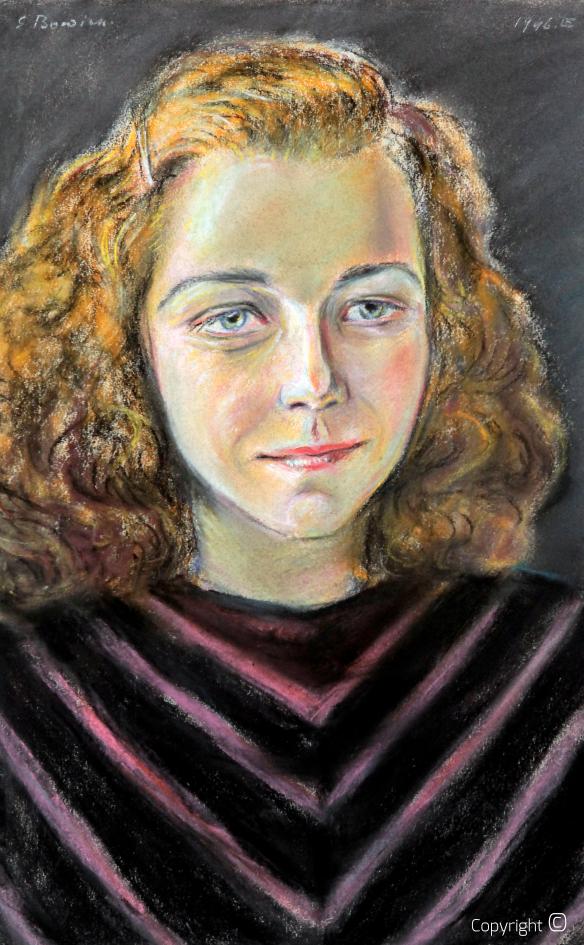 Werkverzeichnis N° 1262 - Bildnis Leni Bracht, 1946