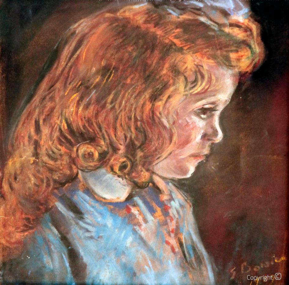Werkverzeichnis N° 1164 - Kind Bettina im Profil, 1939