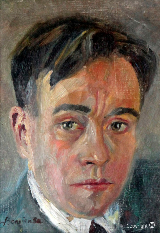 Catalog of Works N ° 52 - Self-Portrait, 1930