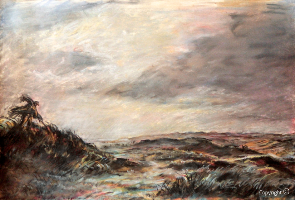 Thunderstorm over the dunes, 1936