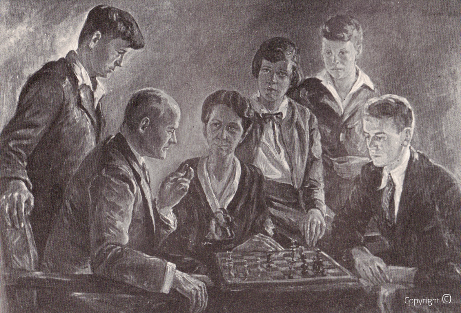 Loss of war - Portrait of the Gontermann family, Solingen 1932