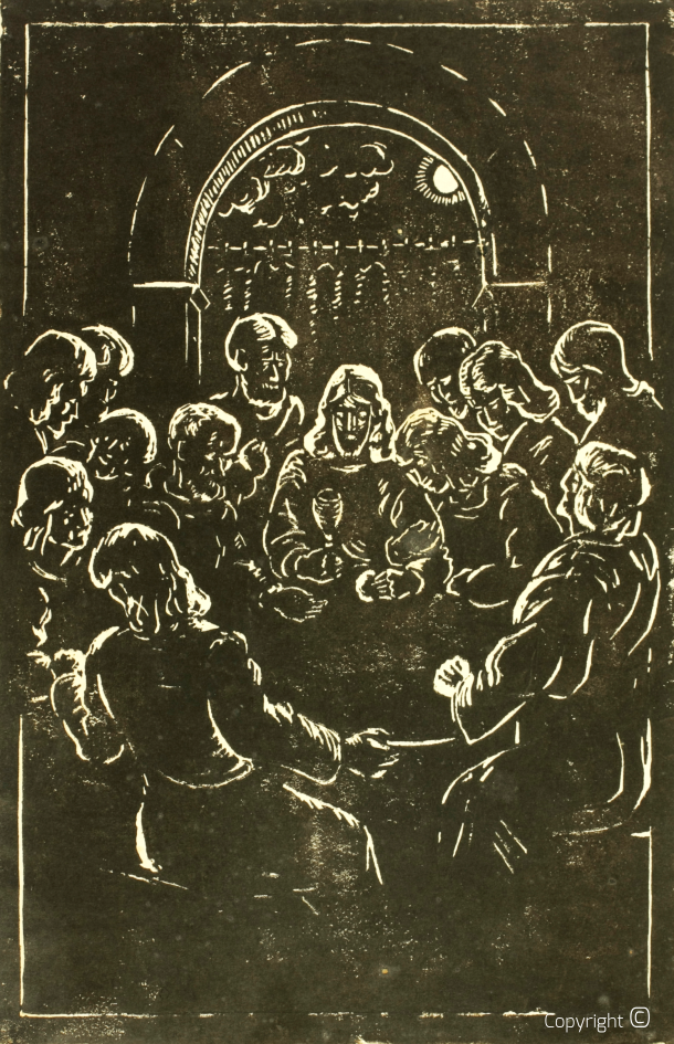 Catalog of Works N ° 2811 - Last Supper, 1925