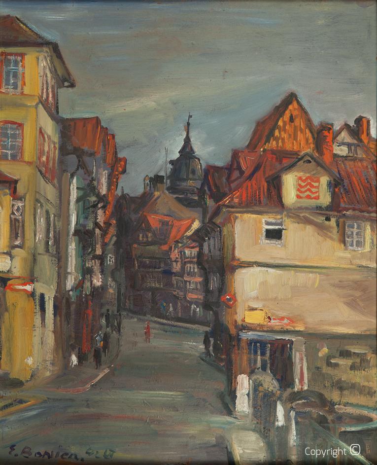 Stadtvedute in Hannoversch Münden, 1967