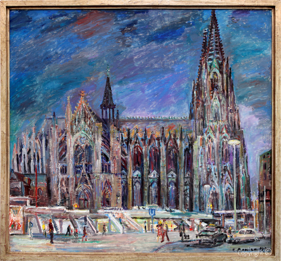 Catalog of Works N ° 828 - Cologne Cathedral, 1970