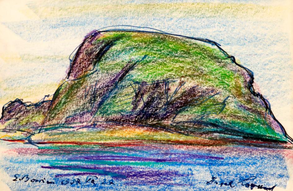 Norwegische Insel, Studie, 1957
