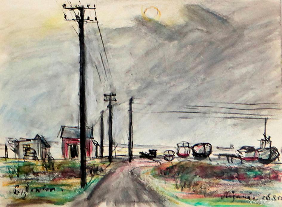 Auf dem Weg zum Nordkap, 1957