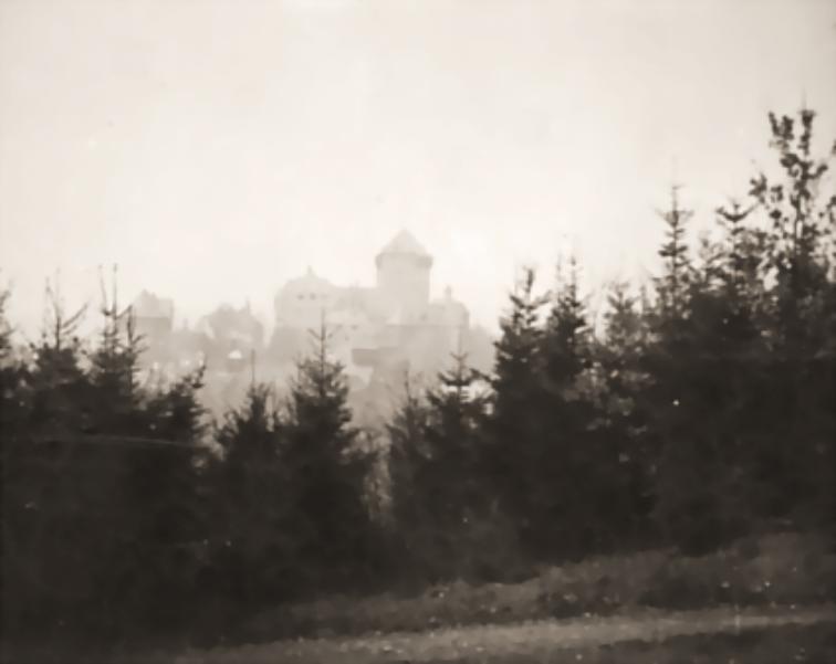 Schloß Burg an der Wupper, um 1930