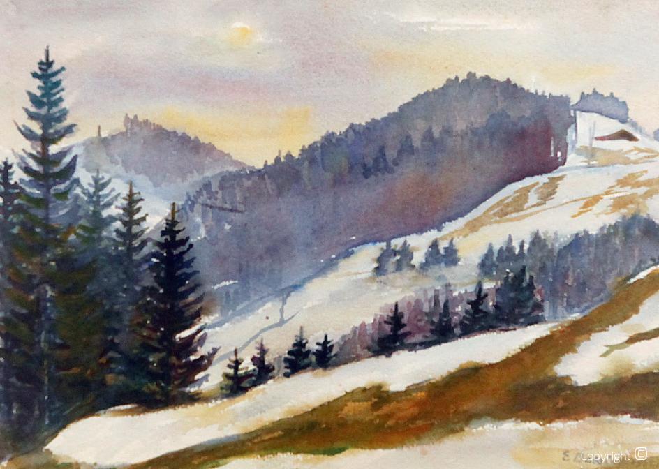 Werkverzeichnis N° 2856 - Kreuzthaler Schneeimpressionen II, 1945