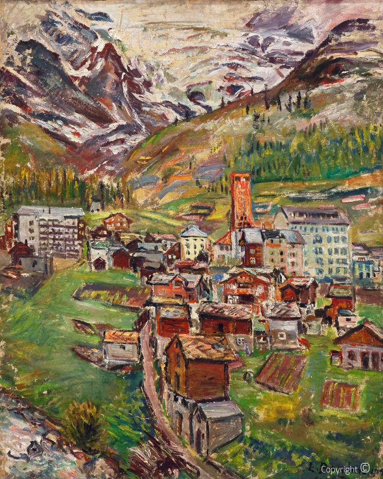 Werkverzeichnis N° 815 – Saas Fe in der Schweiz, 1969