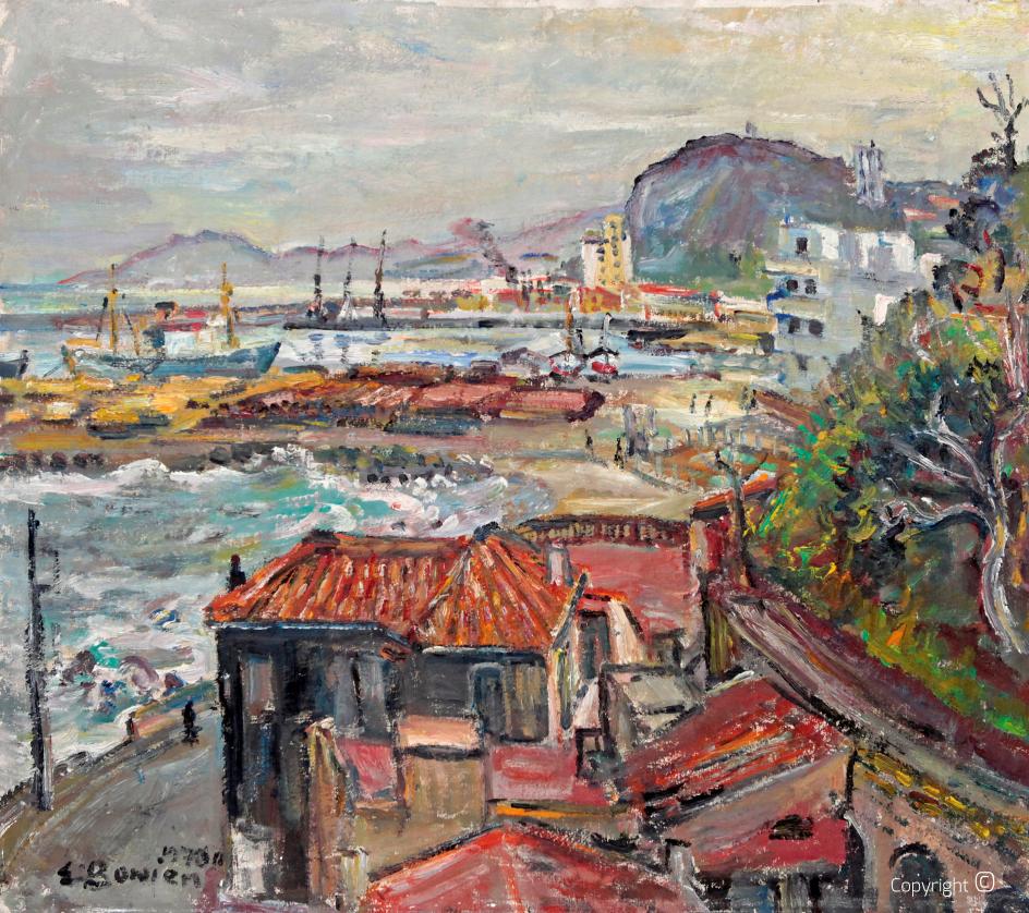 Werkverzeichnis N° 839 – Der Hafen von Skikda in Algerien, 1970