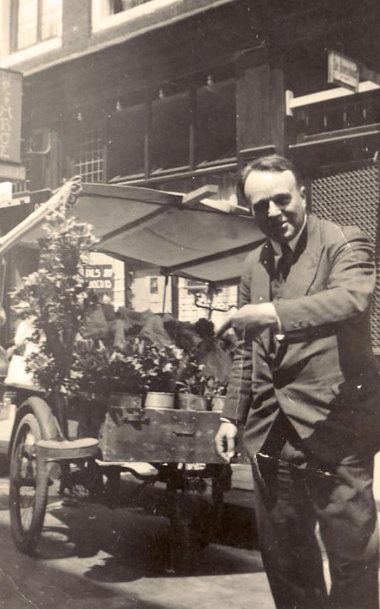 Bowien in Amsterdam, 1938