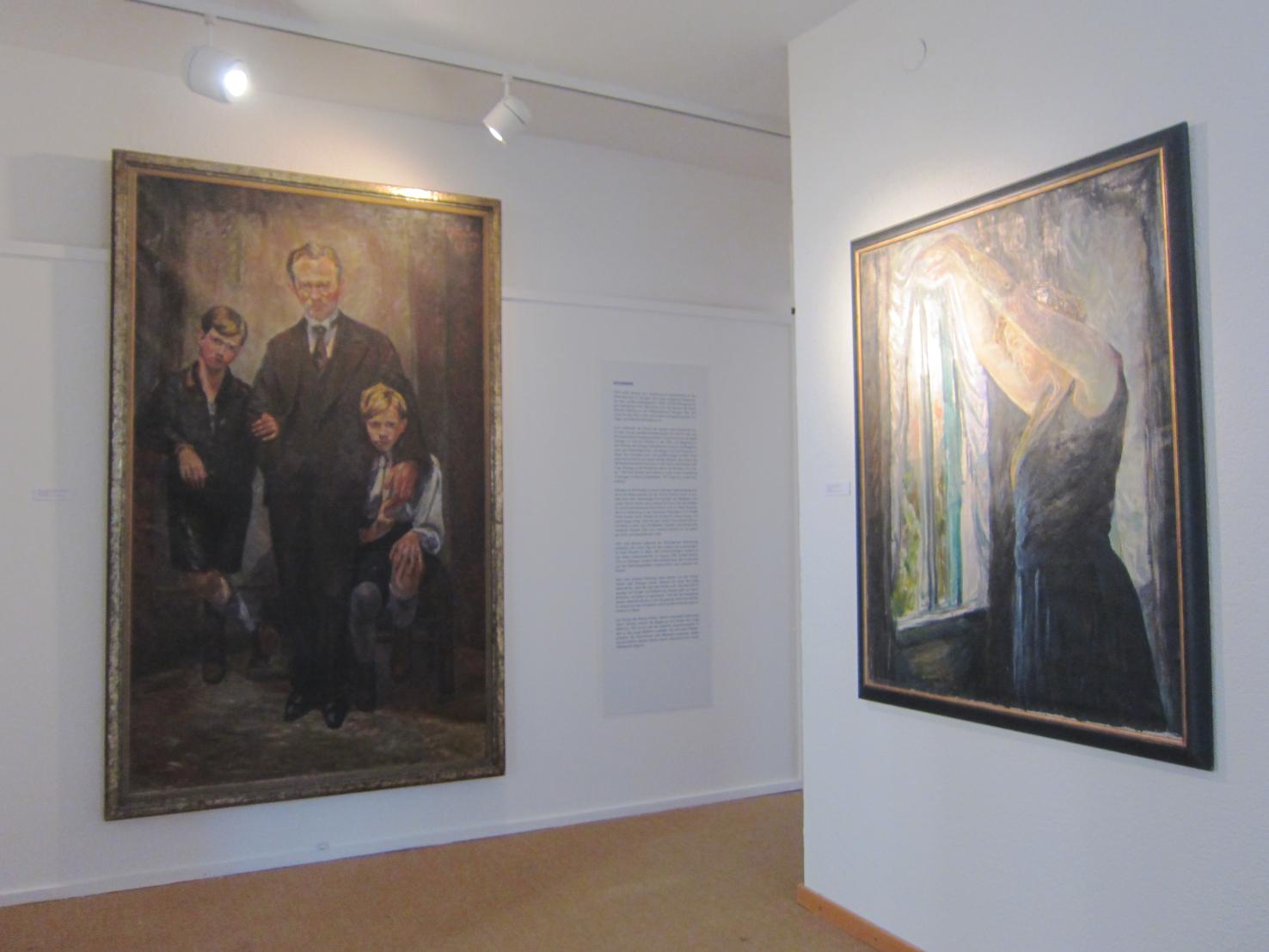 Impression aus der Retrospektive Museum am Lindenplatz in Weil am Rhein, 2013