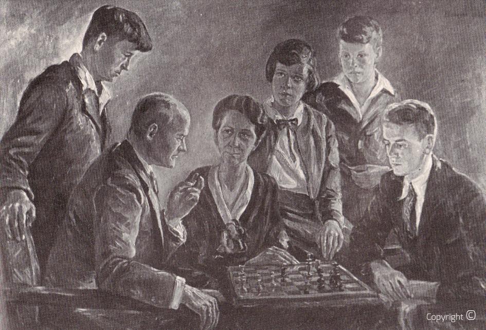 Kriegsverlust - Bildnis der Familie Gontermann, Solingen 1932