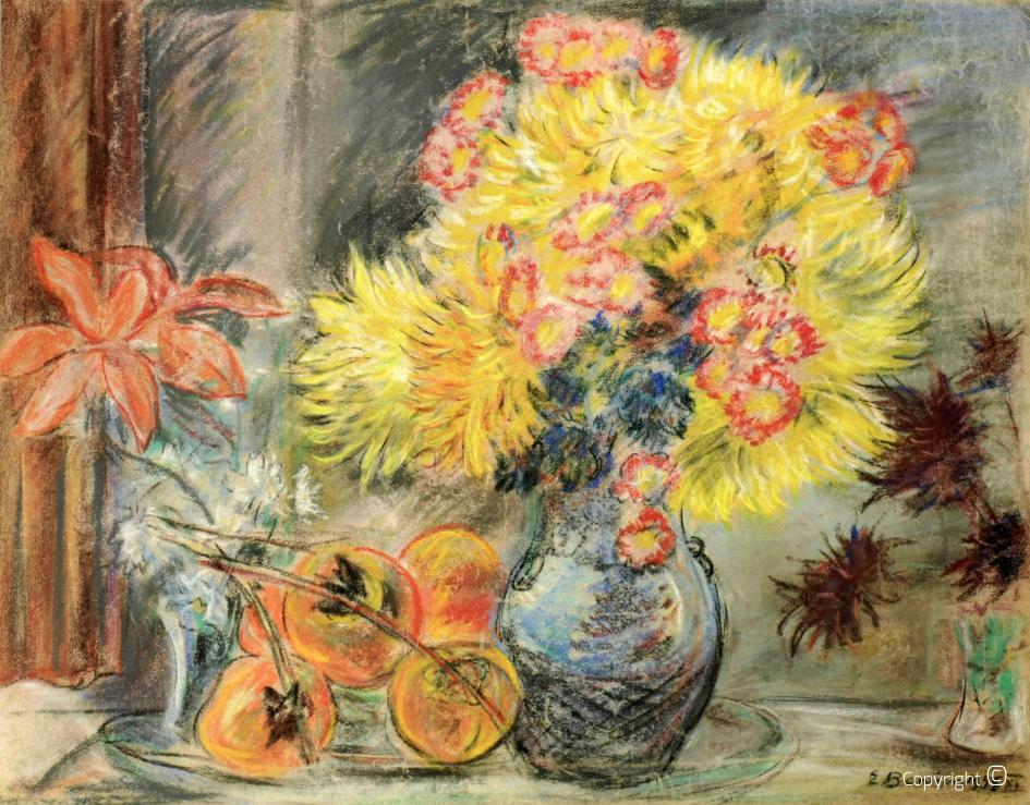 Blumenbildnis, 1945
