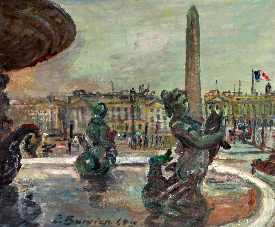 Place de la Concorde by day, 1964