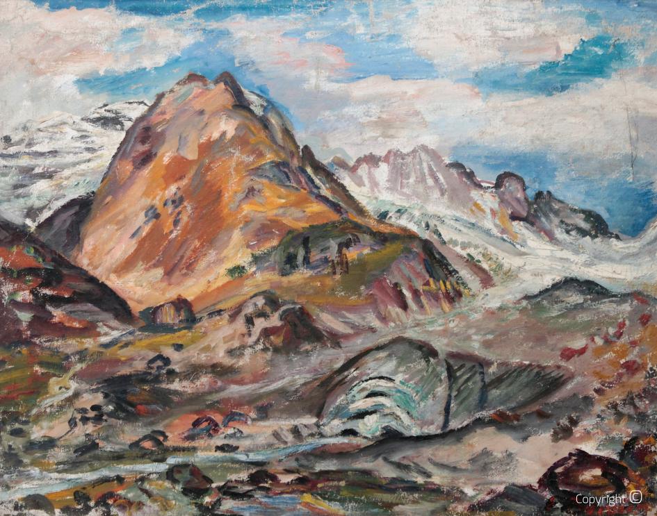 Im Hochgebirge, 50er Jahre