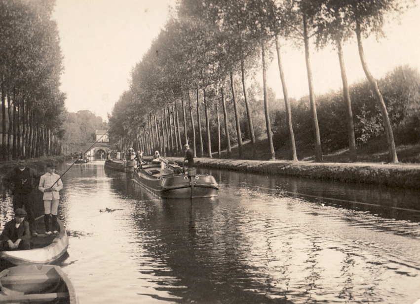 Kanal in Holland, 1934