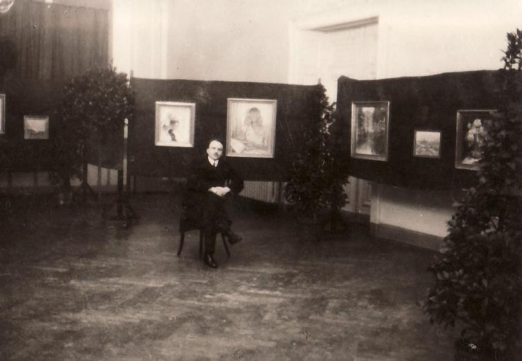Impressionen der Ausstellung im Casino Saal zu Solingen, 1929