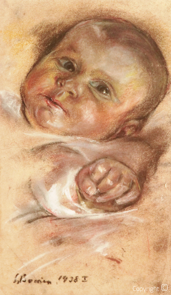 Catalog of Works N ° 1153 - The Baby Bettina, 1938