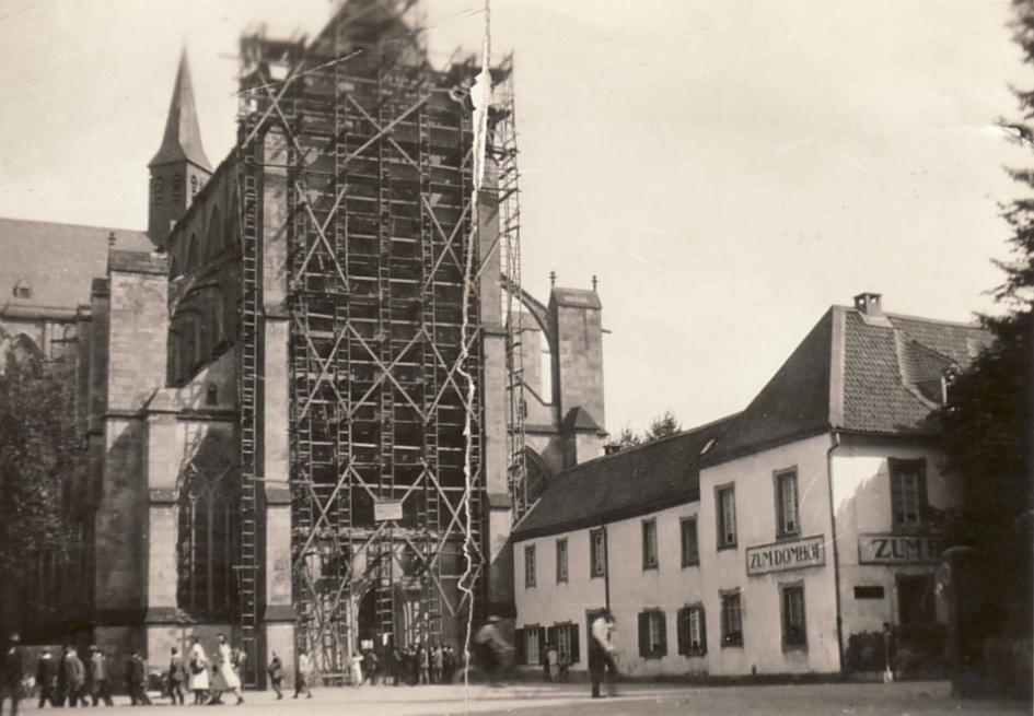 Die Abtei Altenberg, um 1930
