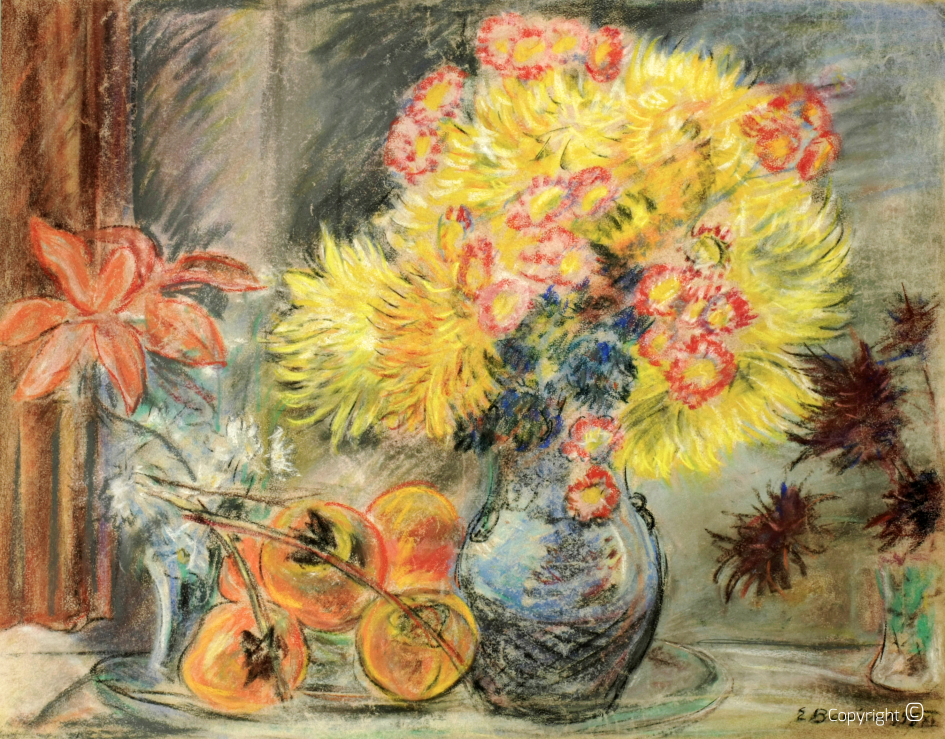 Flower portrait, 1945