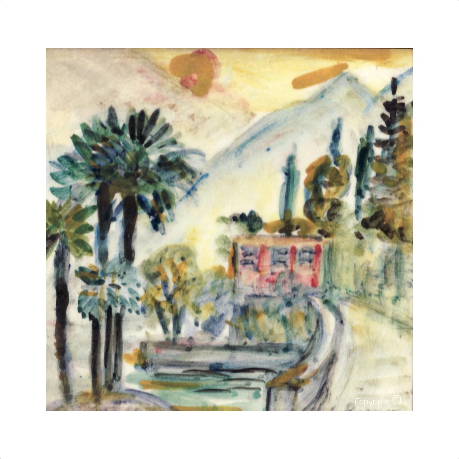 Locarno on Lake Maggiore, 1963
