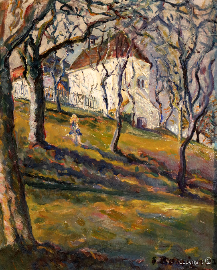 Das Schloss Killenberg im Sommer, 1922