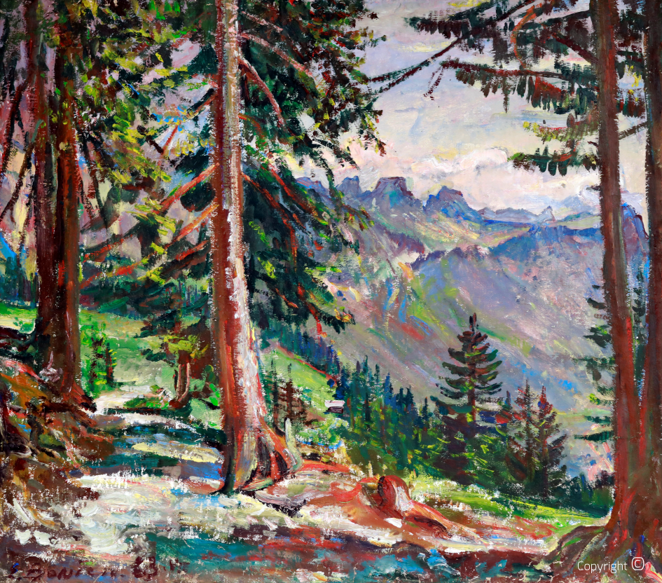St. Gallen Oberland, 1963