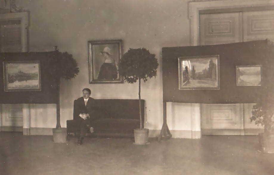 Solingen - exhibitions in the Casino Society hall in 1927 and 1929