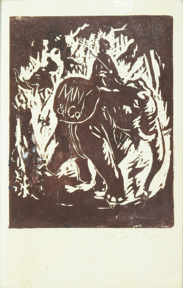 Catalog of Works N ° 2808 - Rider on Elephant, 1924