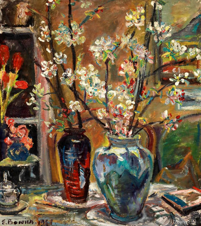 Blumenportrait, 1961