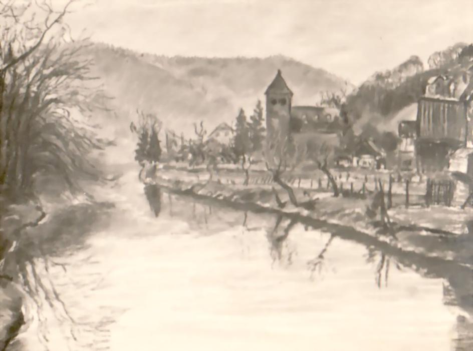Casino Ausstellung 1929 - Wupper bei Unterburg