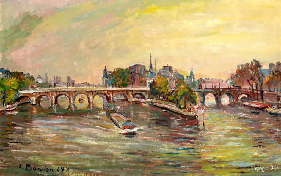 Catalog of Works N ° 704 - Ile de la Cité, Paris, 1964