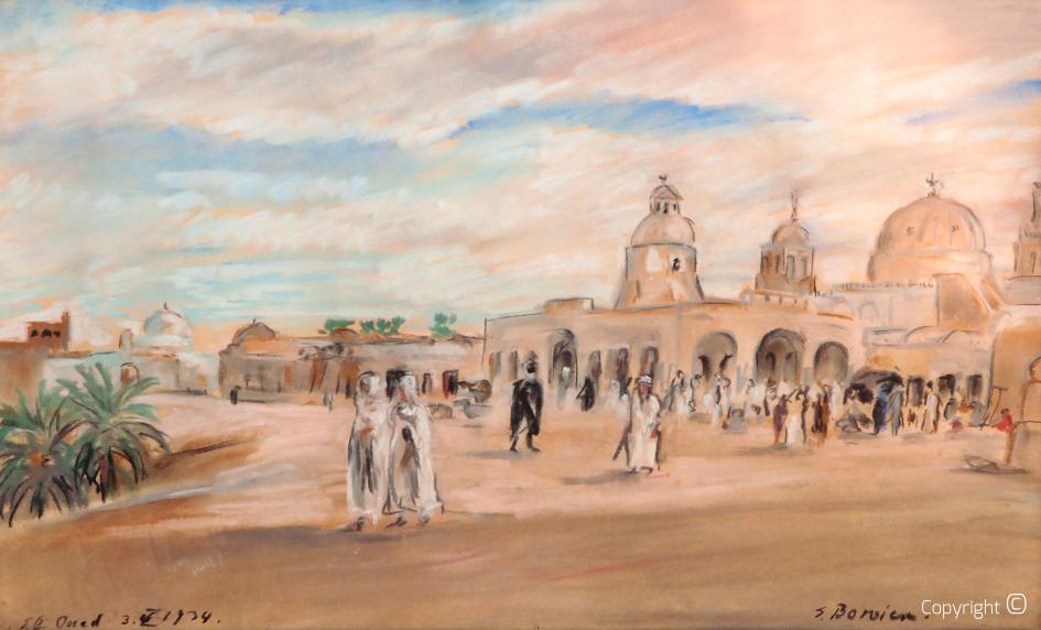 Werkverzeichnis N° 1075 - Moschee von El Oued in Algerien, 1934