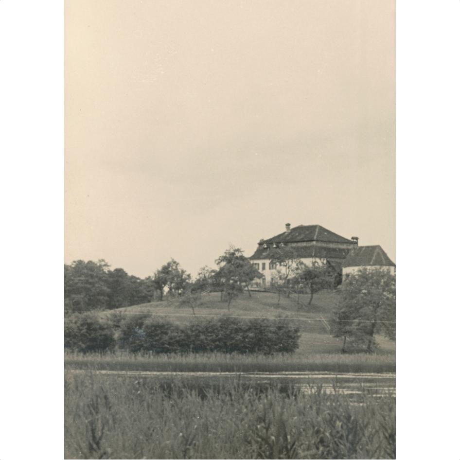 Die Sommerresidenz der Äbte von Salem am Killenberg in welchem Bowien in den 20er Jahren des 20. Jahrhunderts mehrere Monate im Jahr verbrachte
