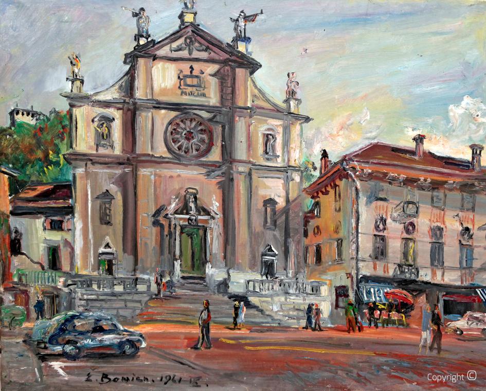 Werkverzeichnis N° 618 – Bellinzona, 1961