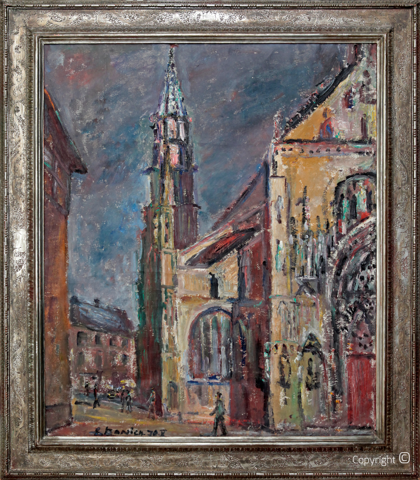 Catalog of Works N ° 841 - St.-Theobald-Münster in Thann (Alsace), 1970