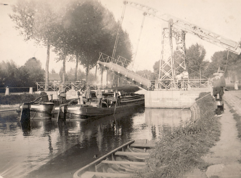 Brücke in Holland, 1934