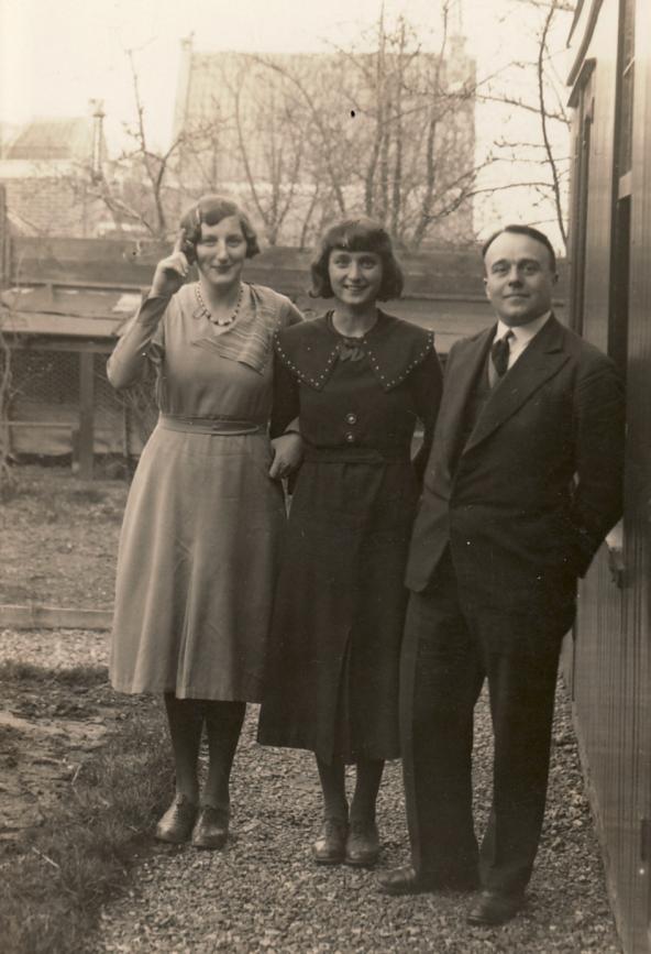 Erwin Bowien am Beginn seines Exils in Holland , 1933