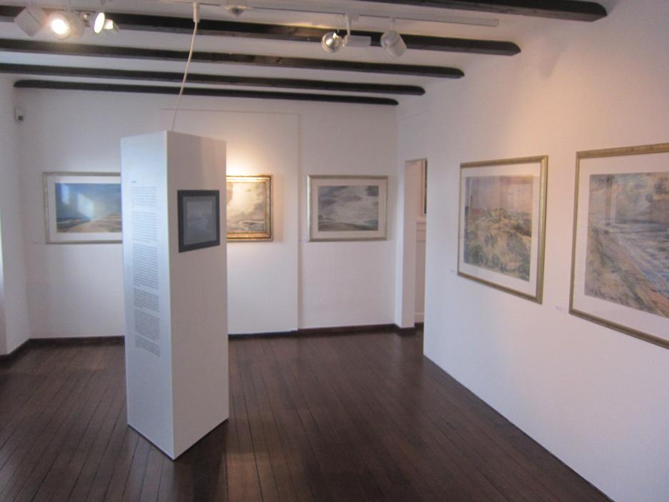 Impressionen aus der Retrospektive Museum am Lindenplatz in Weil am Rhein