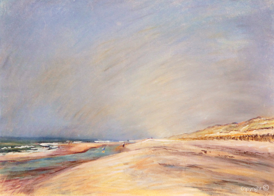 Catalog of Works N ° 1141 - Dutch coast in summer, 1937