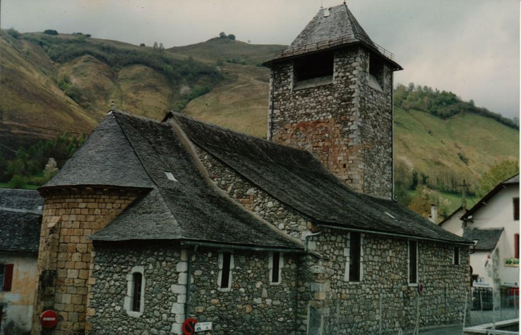 Eglise d'Osse-en-Aspe