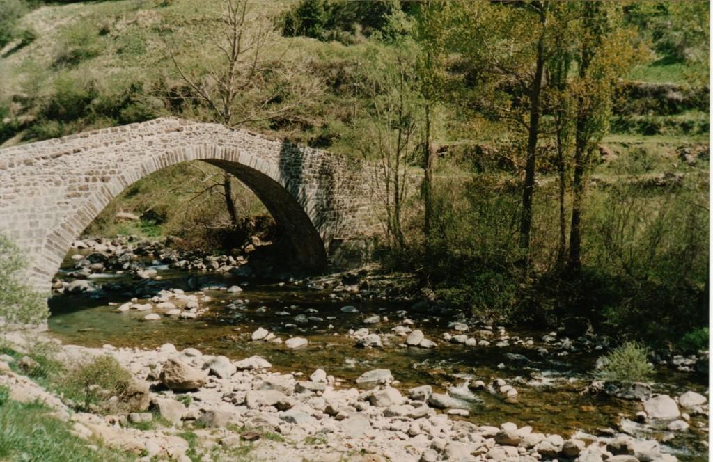 Canfranc, Puente de Los Peregrinos
