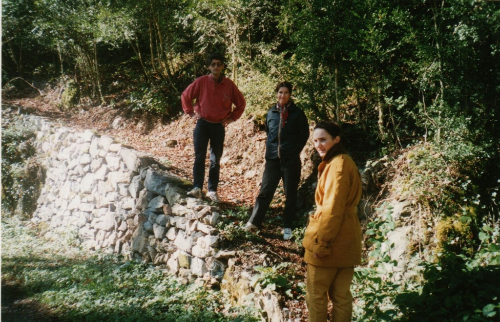 rampe achevée près des Fontaines d'Escot